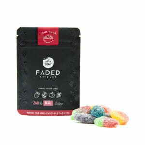 Buy Faded cannabis gummies at Crownweed.co