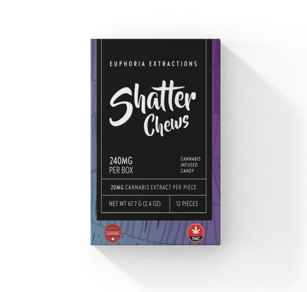Indica Shatter Chews
