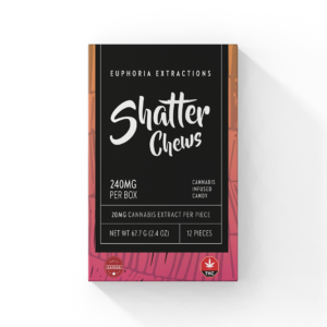 Sativa 240 Shatter Chews Euphoria Extractions