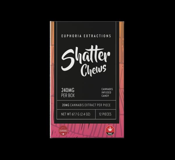 Sativa 240 Shatter Chews Euphoria Extractions