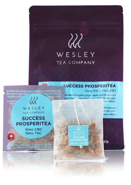 buy Success Prosperitea 10 mg THC + 10 MG CBD toronto crown weed delivery in toronto
