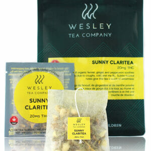 buy Sunny Claritea 20 MG THC in toronto crown weed delivery