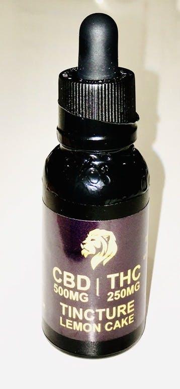 2:1 CBD THC tinctures