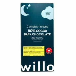 crown weed delivery - willo dark chocolate