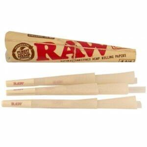 raw 6pack cones